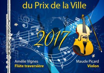 Concert des lauréats du Prix de la Ville 2017